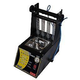 Máquina de Limpeza e Teste de Injetores com Cuba de 1 Litro Embutida