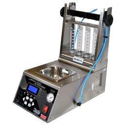 Maquina de Limpeza e Teste de Bicos Injetores em Inox Cuba de 1 Litro Bivolt