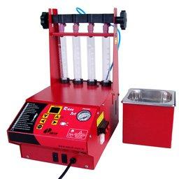 Máquina Limpeza e Teste de Injetores + Teste Corpo Borboleta + Software c/ Cuba Separada