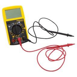 Multímetro Digital de 7 Funções e 20 Estágios com Sensor e Medidor de Temperatura