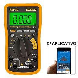 Multímetro Digital com Interface Bluetooth e Aplicativo HM-2400