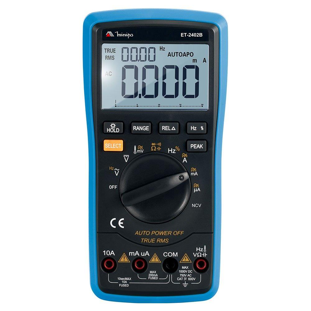 Multímetro Digital LCD com True RMS e Data Logger
