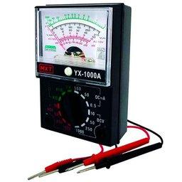 Multimetro Analógico com Escala Espelhada 1000V