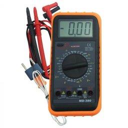 Multímetro Digital à Bateria 9V MD-380