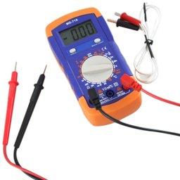 Multímetro Digital Portátil com Temperatura