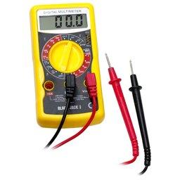 Multímetro Digital Profissional para Teste de Diodo, Pilhas e Baterias