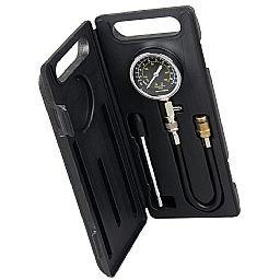 Medidor de Compressão 2 em 1 (Rosca e Pressão) com Manômetro.
