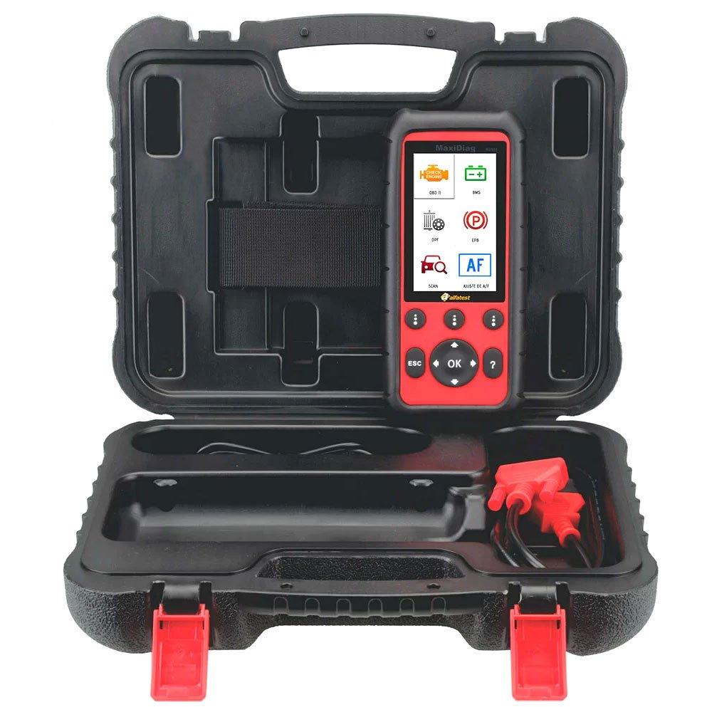 Scanner MAXIDIAG MD 808 para Motor, Transmissão, ABS e Airbag - Ajuste de A/F e Funções Especiais