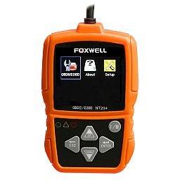 Scanner Leitor de Códigos de Falhas Automotivo Foxwell OBDII/CAN