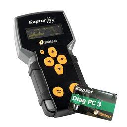 Kit Scanner Kaptor V3S Alfatest + Cartão Diag PC 3 Kaptor V3 Alfatest