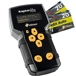 Kit Scanner Kaptor V3S Auto Pack 15 e Credit 20 Alfatest-20 51140030 + 2 x Cartão Credit Auto 20