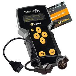 Kit Scanner V3S Alfatest 20 5.11.40.030 + Cartão Pack Auto 35 + Cartão OBD II + 2 x Cabos Adaptadores