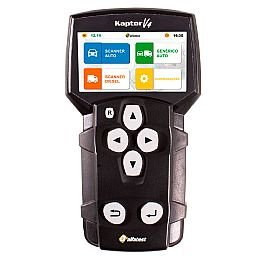 Scanner Automotivo Kaptor V4 Auto Full + Cartão Credit Auto 20 com Maleta