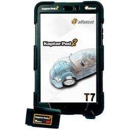 Scanner Automotivo Kaptor PAD 2 T7 Auto Full + Cartão Credit Auto 20m com Maleta