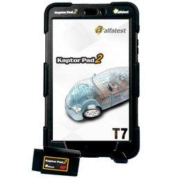 Scanner Automotivo Kaptor PAD 2 T7 Auto Full com 3 Cartões e Maleta