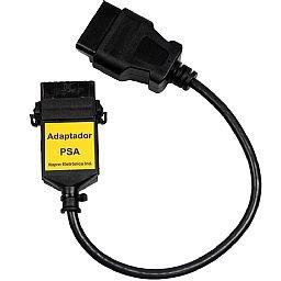 Cabo Adaptador PSA Peugeot e Citroen para Scanners PC-SCAN3000