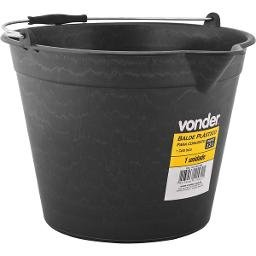 Balde plástico com bico para concreto 12 litros VONDER