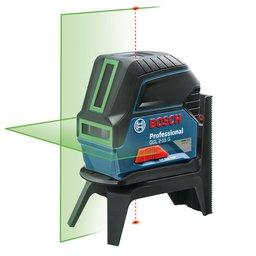 Nível a Laser de Linhas Verdes 15M com Pontos GCL 2-15 G com Maleta