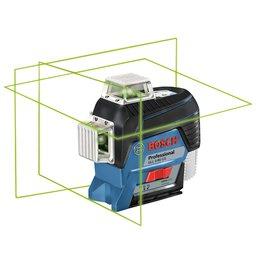Nível a Laser 2 Linhas Verde 30m com Maleta GLL 3-80CG