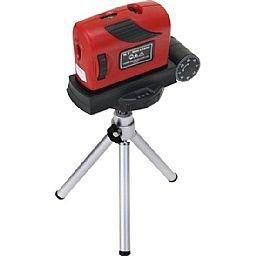 Nível à Laser com Tripé e Base Regulável