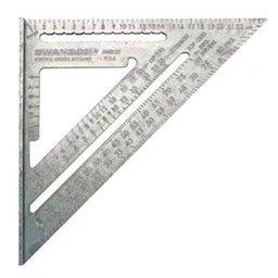 Esquadro Métrico 25cm com 5 Funções