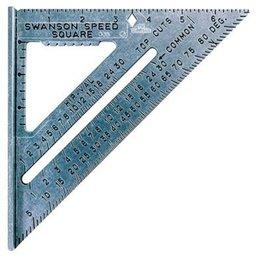 Esquadro em Liga de Alumínio 7 Pol. 18cm
