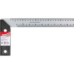 Esquadro para carpinteiro 10 Pol. com cabo plástico NOVE54