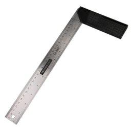 Esquadro Aço Carbono 30 cm com Cabo Plástico