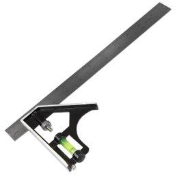 Esquadro 90º 30 cm Regulável com Nível