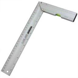 Esquadro de Alumínio com Nível de 300mm