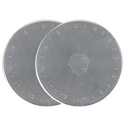 Lâmina Circular para Estilete 45 mm  2 peças