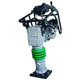 Compactador de Solo à Gasolina SP65 com Motor Branco 5,5HP