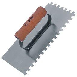 Desempenadeira em Aço Dentada 120 x 255 mm
