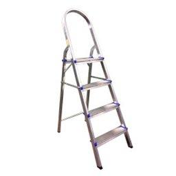 Escada Doméstica com 4 Degraus em Alumínio