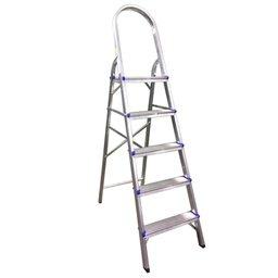 Escada Doméstica em Alumínio com 5 Degraus