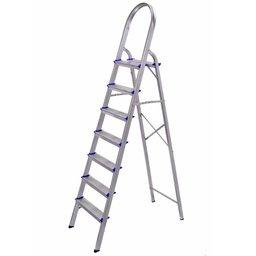Escada Doméstica em Alumínio com 7 Degraus