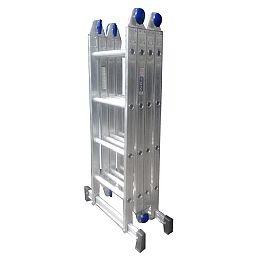 Escada Multifuncional 4x4 com 16 Degraus em Alumínio