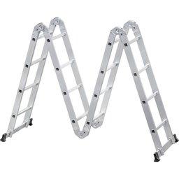 Escada Alumínio Multifunção Articulada 4x4 4,50 Metros
