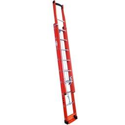 Escada Extensível Vazada em Fibra 13 Degraus 4,20 Metros