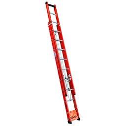 Escada Extensível Vazada em Fibra 15 Degraus 4,20 Metros