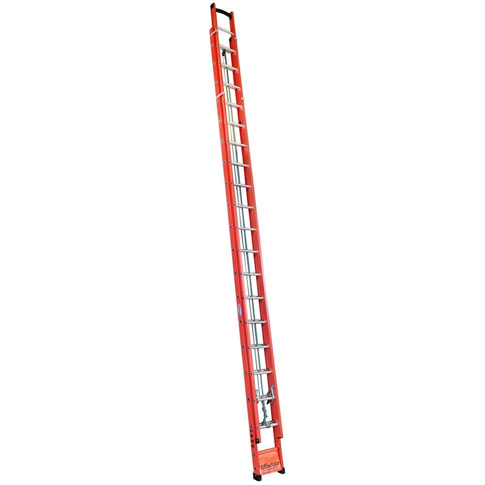 Escada Extensível Vazada em Fibra 33 Degraus 10,20 Metros