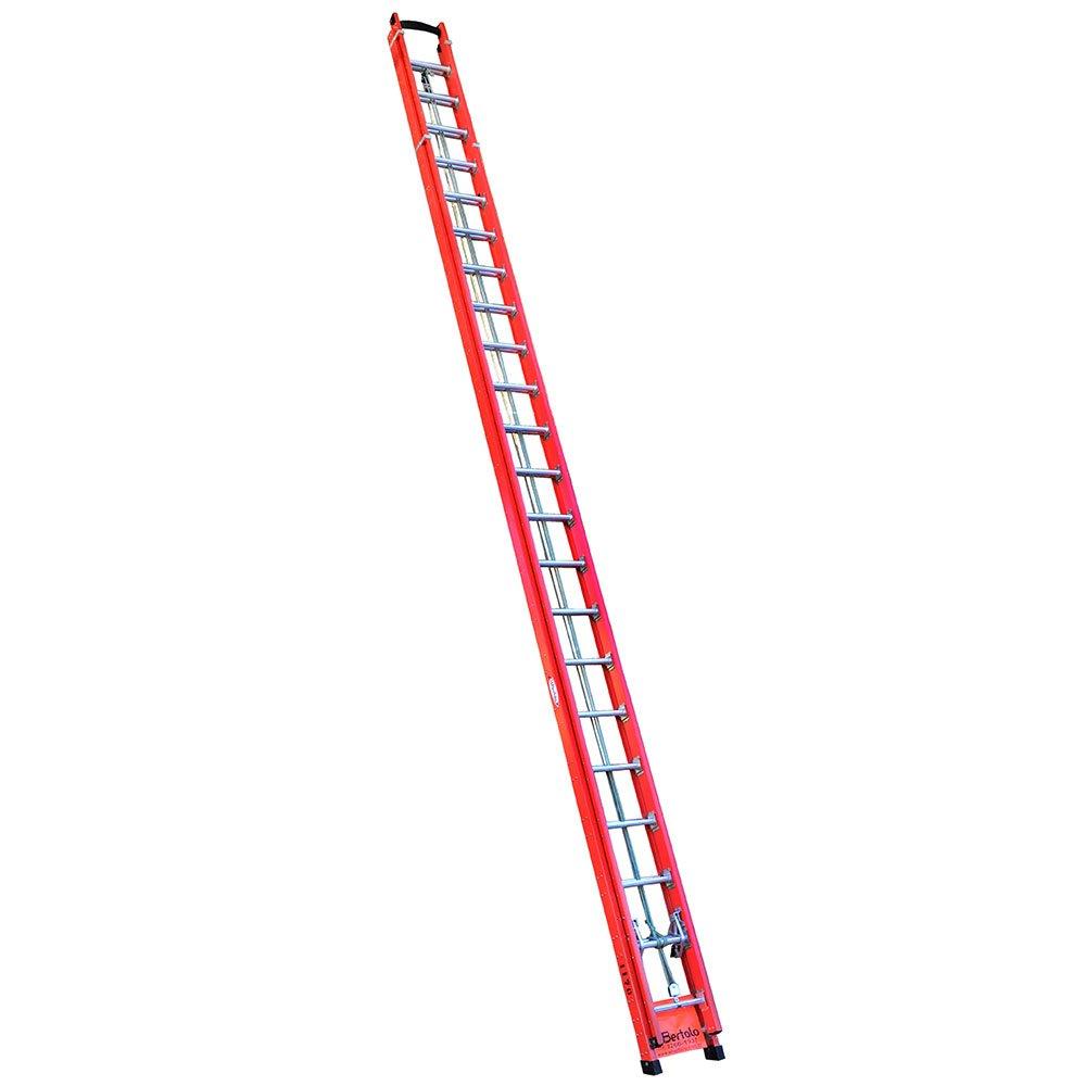 Escada Extensível Rebitada em Fibra 39 Degraus 11,70 Metros