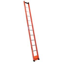 Escada Singela Vazada em Fibra 11 Degraus 3,60 Metros