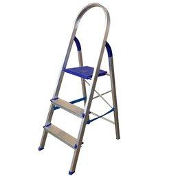 Escada Doméstica em Alumínio 3 Degraus