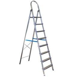 Escada Doméstica em Alumínio 8 Degraus