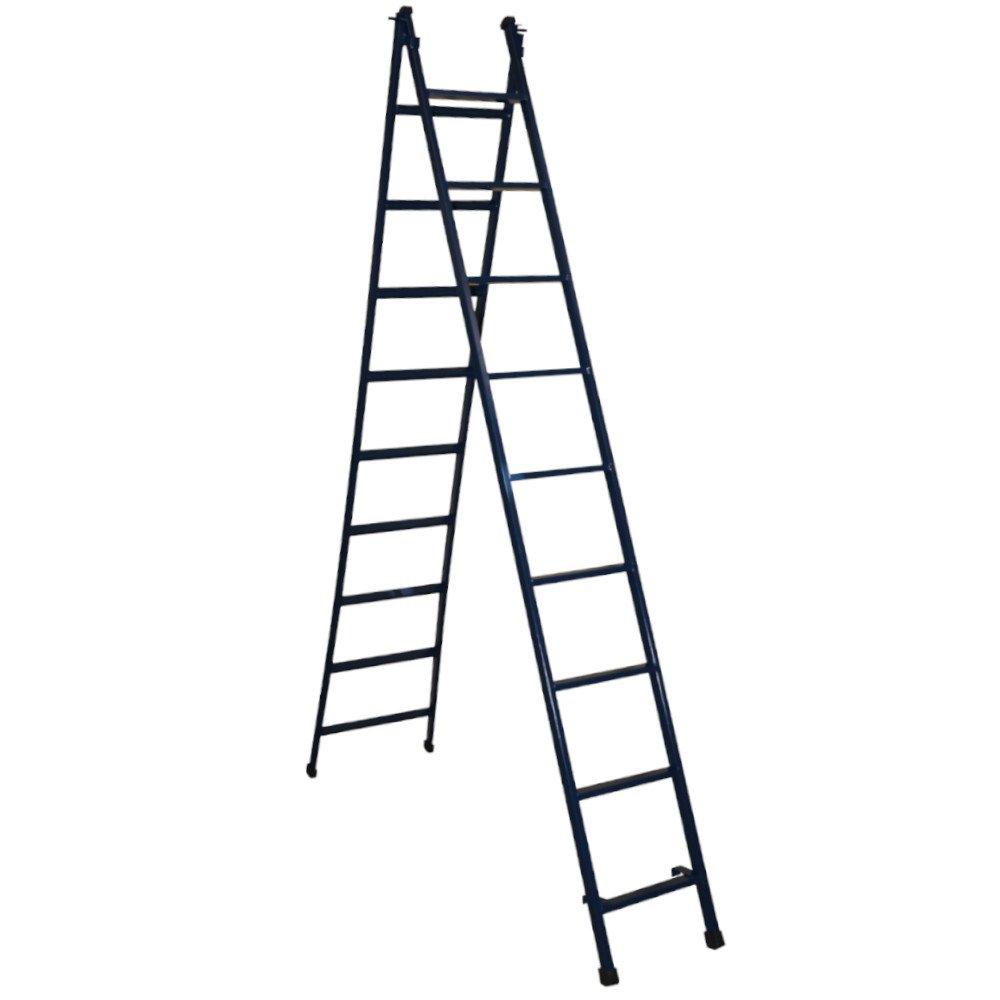 Escada de Aço Extensível 9 Degraus