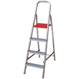 Escada Doméstica em Alumínio 4 Degraus