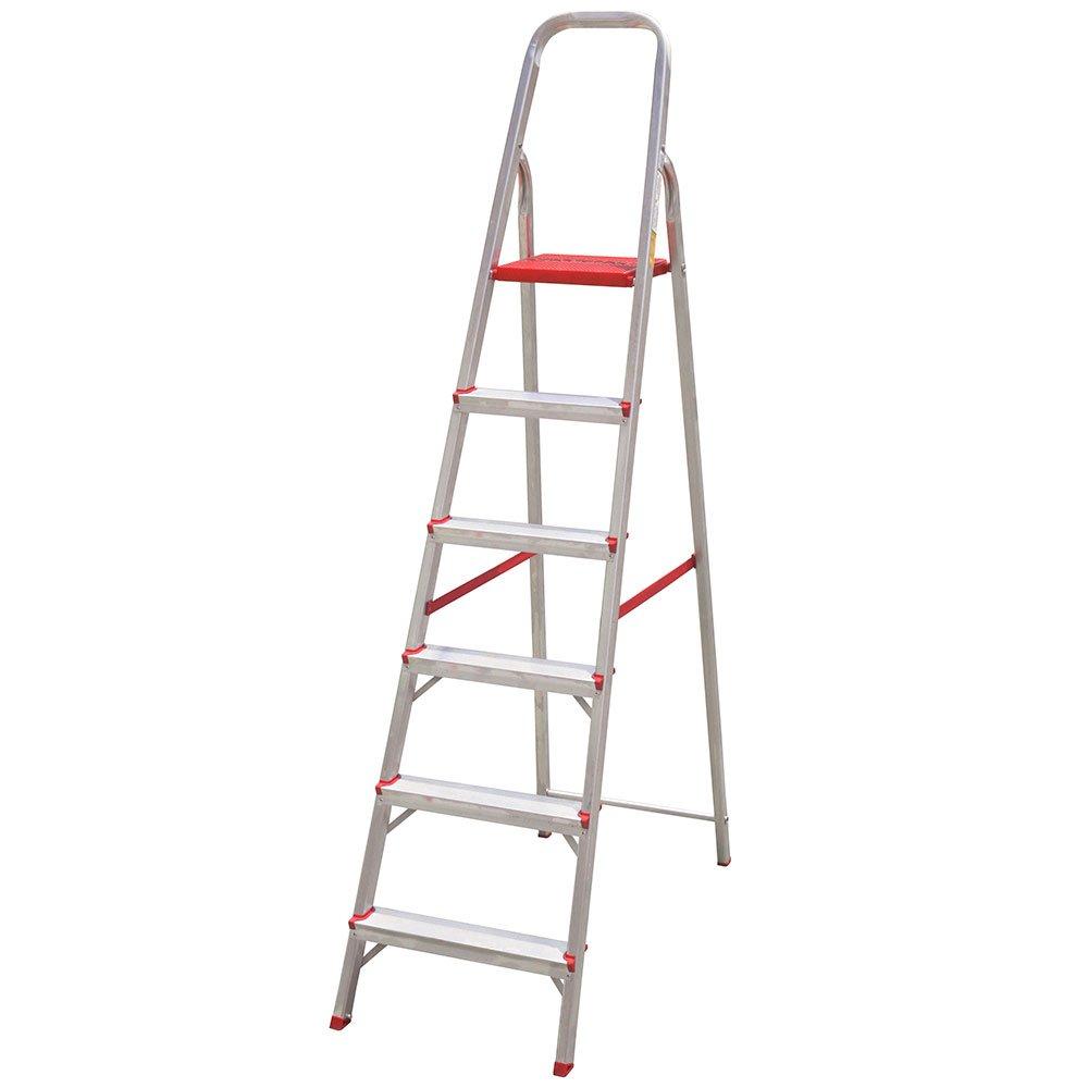 Escada Doméstica em Alumínio 6 Degraus