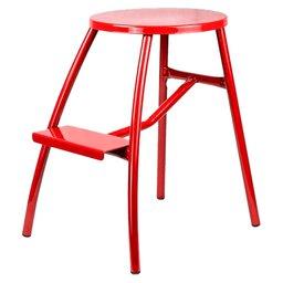 Escada Banqueta Multiuso 52cm Vermelha