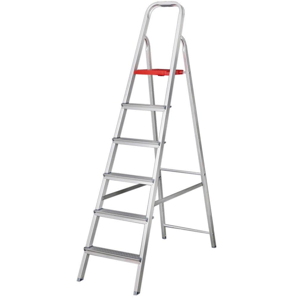 Escada Doméstica em Alumínio 7 Degraus 1,96m
